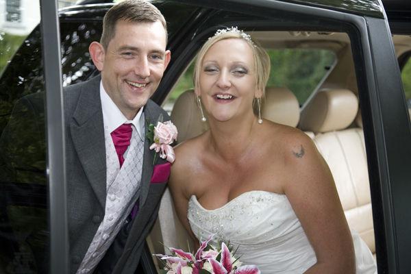 Mark & Emma. Married in Kent.
