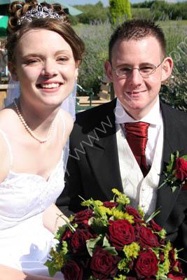 Mike & Natalie.  married in Kent