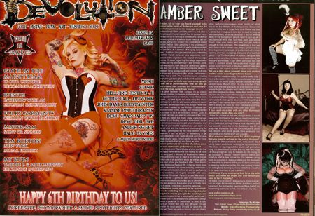 Amber Sweet photo in Devolution Feb 2010