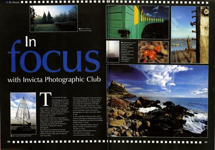 Kent Messenger Focus Magazine.