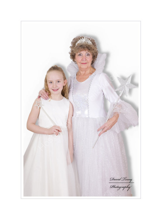 The Fairy Godmother and her little Protege.