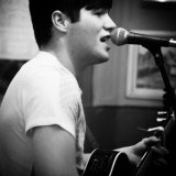 Luke performing. Open mic at the Lobster Pot, West Malling.
