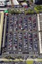 Car Park, Queen Victoria Market, Melbourne, Victoria, Australia - aerial