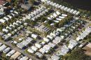 Campground, Alexandra Headland Beach, Sunshine Coast, Queensland, Australia - aerial
