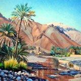 Handroot, Wadi Tayeen. Oil 51x41cm