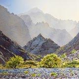 Mountain scenery near Taww. Watercolour 64.5 x 49cm