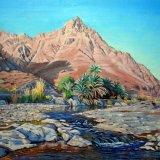Wadi Tayeen. Oil 51 x 41cm