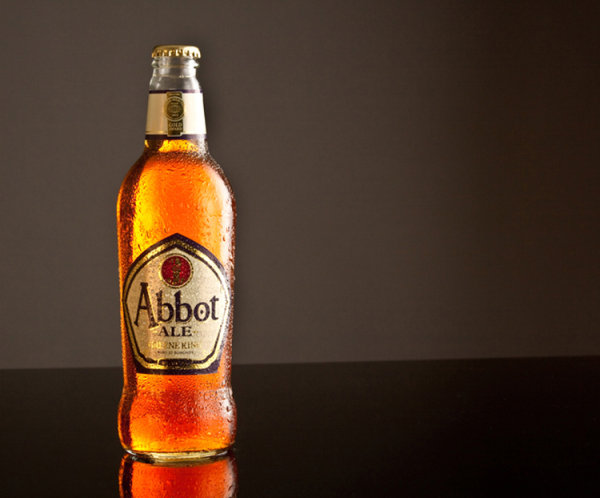 Abbot ale chilled