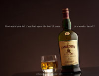 Jameson 12 year Irish whiskey.