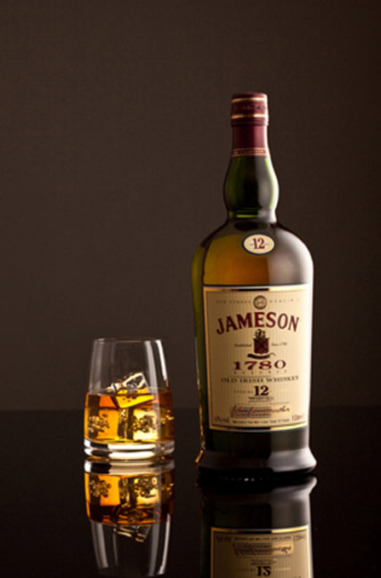 Jameson old irish whiskey.