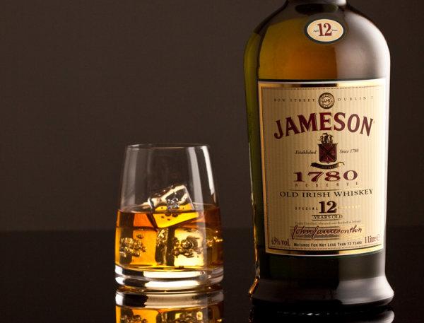 Jameson old Irish Whiskey
