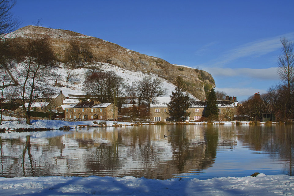Kilnsey in Winter
