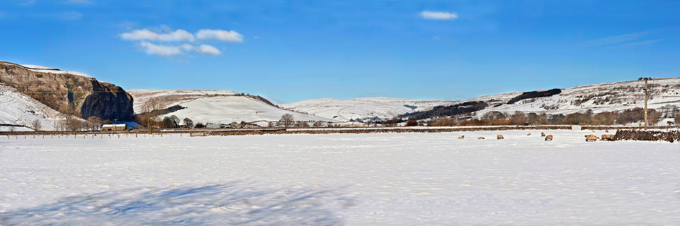 Wharfedale Winter (panorama)