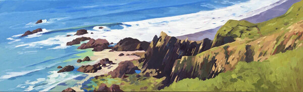 Marloes Sands Panoramic