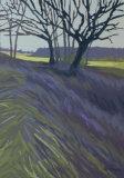 Llantwit Fardre through trees
