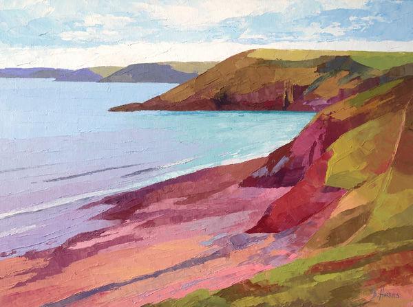 Pink Rocks at Swanlake Bay