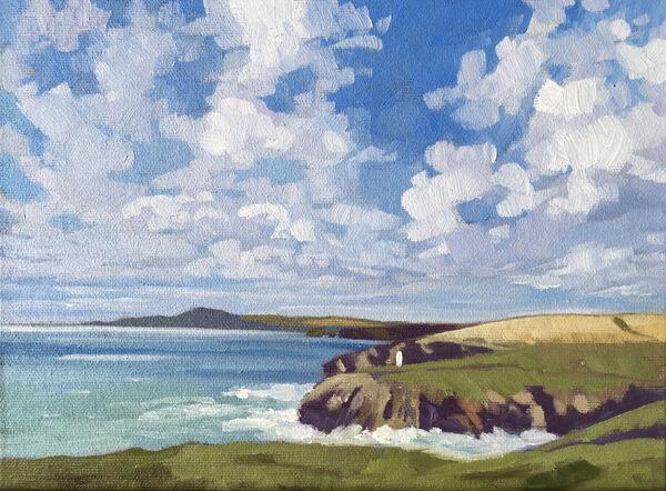 Porthgain Sky