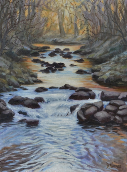 River Walk - Golden Light