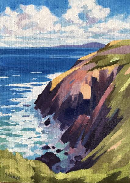 Rock Study, Porthgain