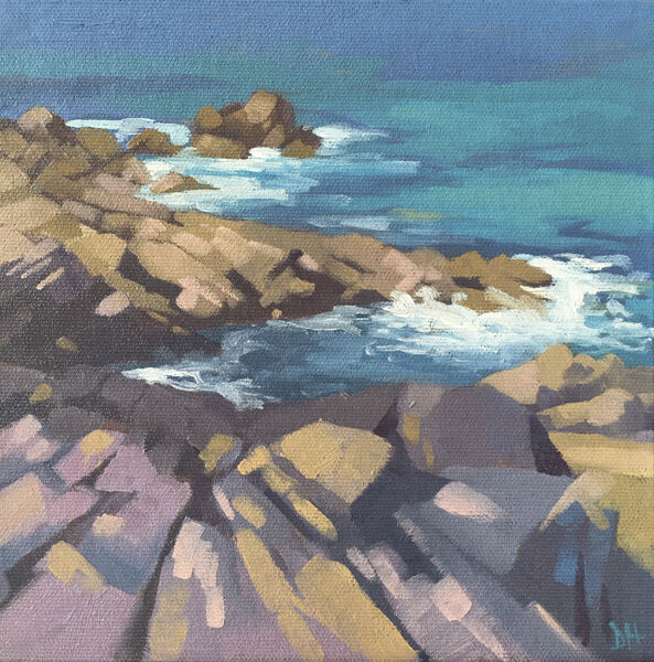 Rock Study - St Ives