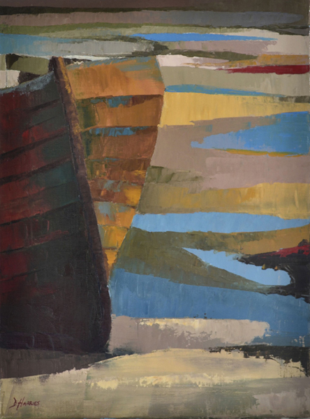 Solva Harbour Boat