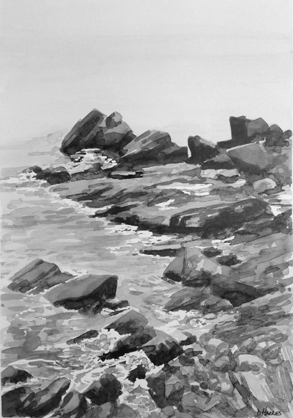 St.Ives Rocks study