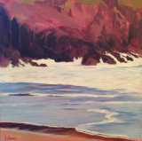 Red Rocks & Waves