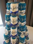 60th Music cakes