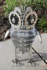 Stainless steel Owl