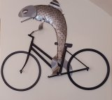 Wall Fish on a Bicycle
