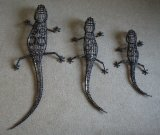 Bicycle Chain Wall Lizards