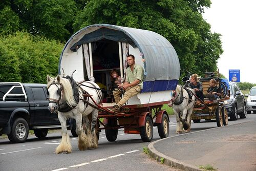 Travellers on the move Britain