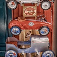 ANTIQUE PUSH CARS by Peter Ward