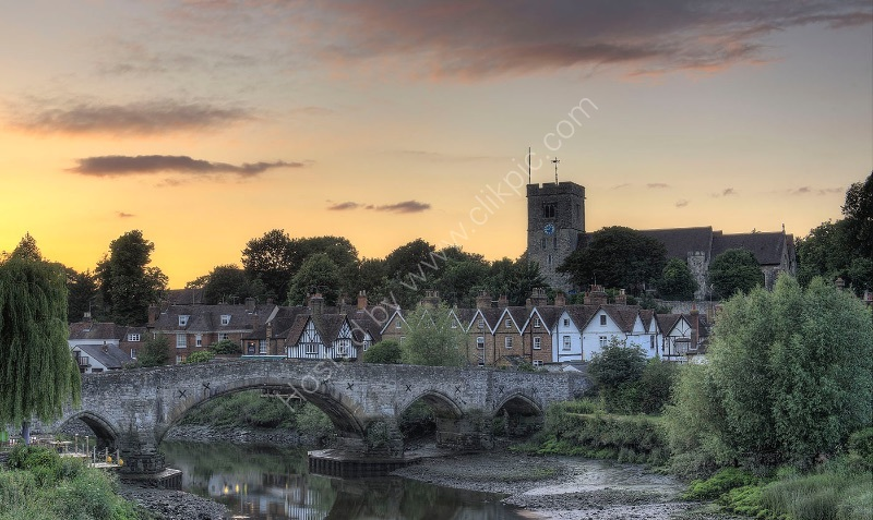 AYLESFORD BRIDGE by Peter Ward