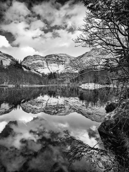 A LOCHAN AT GLENCOE by Mark Constable