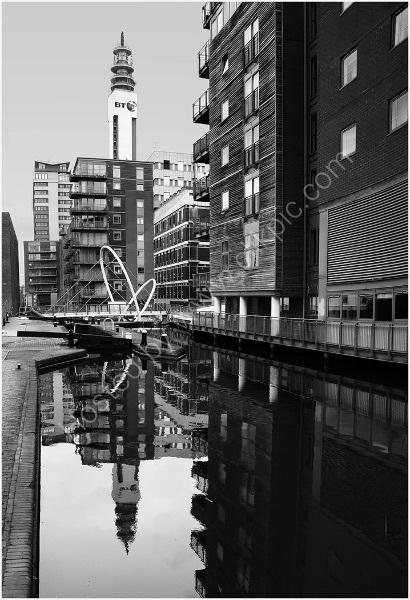 BIRMINGHAM CANAL by Sue Swain