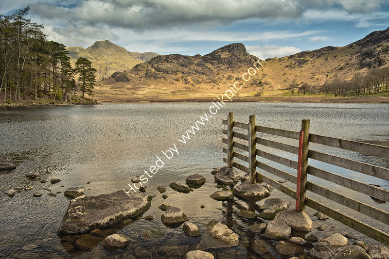 BLEA TARN by Peter Ward