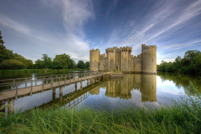 BODIAM CASTLE by Peter Ward