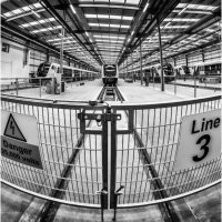 BOMBARDIER TEST BAYS LINE 3 by Tony Barker