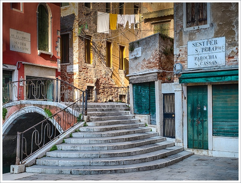 CAMPO SAN CASSIANO by Peter Ward