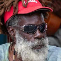CARIBBEAN MUSICIAN by Peter Ward