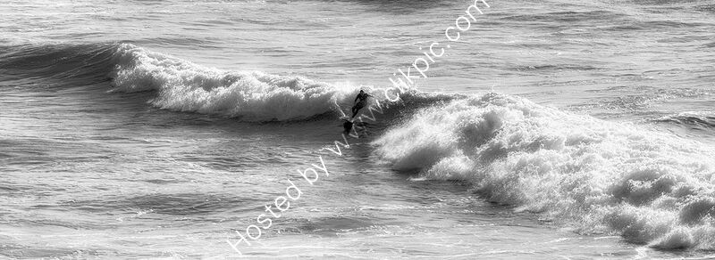 CATCHING A WAVE by Wayne Churchill