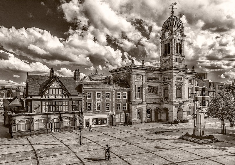 DERBY MARKET PLACE by Ashley Franklin