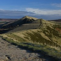 DESCENT FROM MAM TOR by Mike Bradley