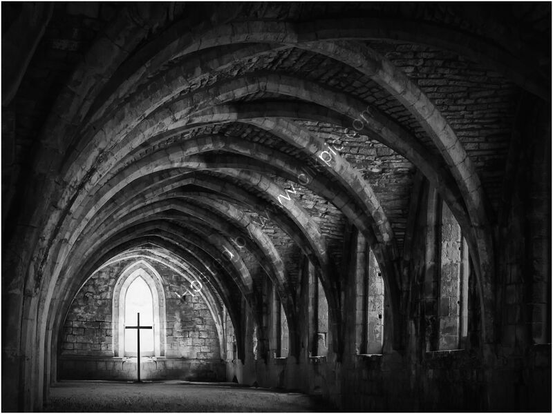FOUNTAINS ABBEY by Gillian Foulds
