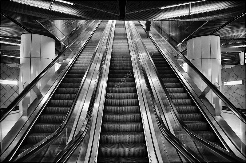 GOING UP By Wayne Churchill