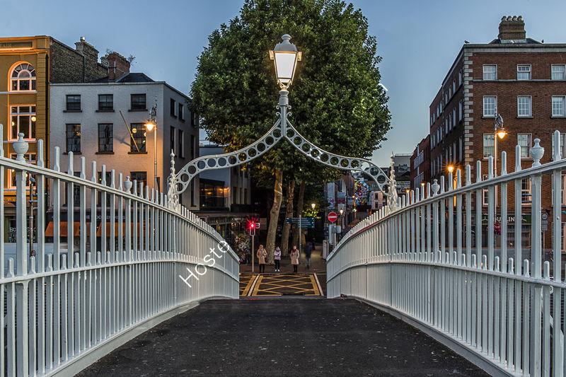 HA'PENNY BRIDGE by Chris Hall