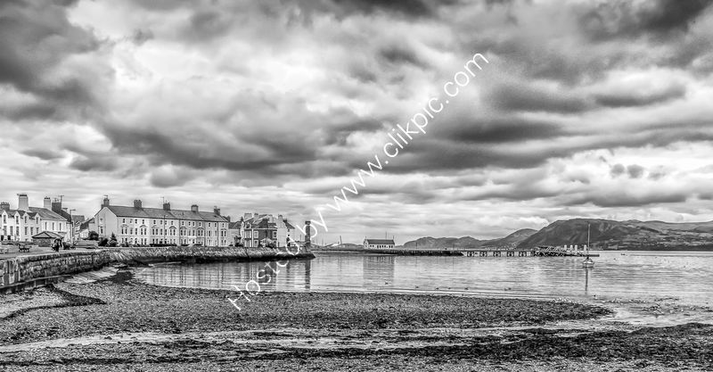 HEAVY SKIES OVER BEAUMARIS by Christine Maughan