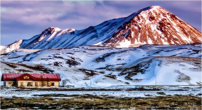 ICELANDIC DAWN by Tony Barker