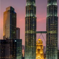 KL TWIN TOWERS by Brenda Howard